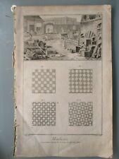 Diderot / d'Alembert MARBRERIE 14 Tafeln Encyclopédie um 1760 Marmor marbre