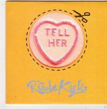 (FF891) Rizzle Kicks, Tell Her - 2014 DJ CD