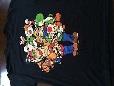 Super Mario Brothers Gang Bowser Toad Nintendo Classic Video Game Shirt (L)