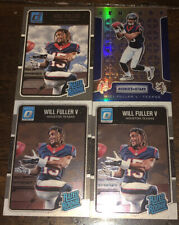 WILL FULLER 2016 ROOKIES & STARS CRUSADE PRIZM & 2 DONRUSS OPTIC +1 RATED ROOKIE