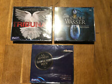 Neu OVP 3 Hörbücher CDs, Fantasy, Thriller, Roman