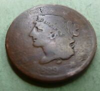1839 Large Cent   #LC39-2