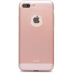 Moshi iGlaze Armour Slim Metal Cover Case for iPhone 7/8 Plus - Rose Gold NEW