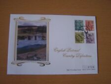 GREAT BRITAIN,2001,ENGLISH COUNTRY DEFINITIVE,FDC, EXCELLENT.