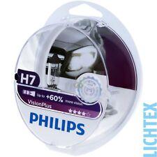 H7 PHILIPS VisionPlus - 60% in più di luce-Lampada Fanale Duo-Pack NUOVO