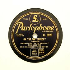 """Ron Goodwin Concert Orchestra """"On The Waterfront"""" (E+) Parlophone R-3923 [78]"""