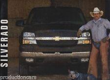 2003 Chevrolet Silverado Truck Sales Brochure Book N1
