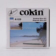 "COKIN ""A"" SERIES A123 GRADUAL BLUE B2 - GRADUATED BLUE #2 FILTER - NOS"