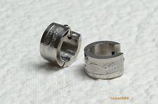 Ed02 Ohrringe Schmuck aus 316L Edelstahl Klappcreolen Creolen Ohrhänger Klapp