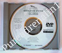 2000 2001 02 03 04 05 06 JAGUAR XJ XK XK8 XKR XJ8 XJR NAVIGATION NAV DISC CD DVD