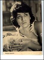 DDR Starfoto Fernsehen Film Schauspielerin Actress 1963 Elzbieta Kepinska