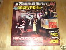 album 2 33 tours les 24 plus grands succes de la musette