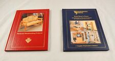 Lot of 2 Woodworking Books Backyard Projects Woodworkers Journal Shop Home S3G50