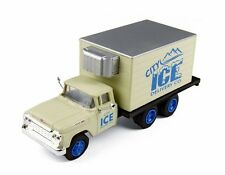 Classic Metal Works Ho Scale '60 Ford Refrigerated Box Truck - City Ice - 30417