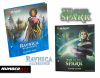 MTG Magic Gathering War of the Spark & Ravnica Allegiance Players Guide Fat Pack