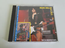 CD: marc bolan & t. rex the 16 greatest hits