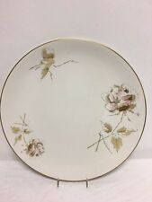 "Flintridge China  Bon Lite ""Pallete Rose"" Dinner Plates 10 3/4"""