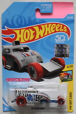 Hot Wheels 2018 Hw Art Cars Altered Ego Silver Factory Sealed
