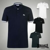 Mens Lonsdale Short Sleeves Jersey Polo Shirt Top Sizes from S to XXXL