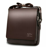 Men's Boys Bag Small Leather Messenger Cross Body Shoulder Handbag Fashion Bags