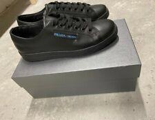 Brand New Mens Black Prada Trainers size uk 9 (43) will fit uk 10 (44) RRP£465