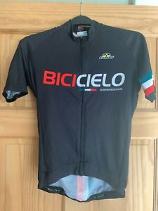 """GSG BICICIELO BIRMINGHAM CYCLING JERSEY ADULT EXTRA SMALL 34-36"""" USED"""