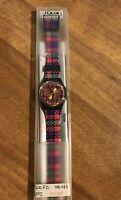 Orologio Swatch Tweed GB 147 Quartz. Nuovo - Vintage 1992. Raro Collezione