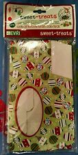 SWEET TREATS ORNAMENT WINDOW COOKIE GIFT BOXES 4 Pk NEW! Christmas