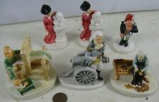 6 Vintage 1947 1958 1948 Sebastian Miniatures Loom Canon Schets Eye