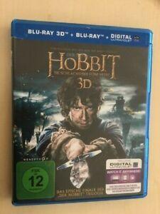 Der Hobbit - Die Schlacht der fünf Heere -  3D, 2D + digital - 4  Blu-ray Discs