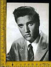 Cinema Teatro Attori Attrici Personaggio Elvis Presley Cartolina anni80