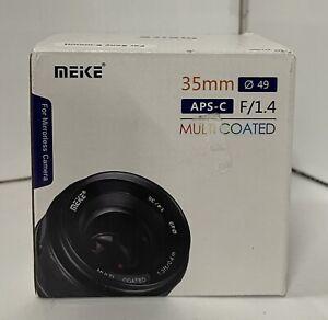 NEW - Meike 35mm f/1.4 Lens for SONY E-Mount - MK-3514MF