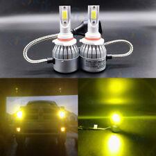 9005 HB3 3000K Yellow 8000LM CREE LED Headlight Bulbs Kit High Low Beam Headlamp