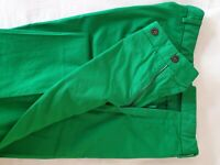 POLO RALPH LAUREN Men's Cruise Green Preppy Chinos Trousers Pants 33 x 34 BNWT