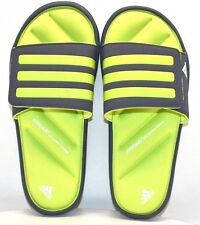 Adidas Zeifrei Slide K AF4321 Gray / Green US Size 4 - FREE SHIPPING - BRAND NEW