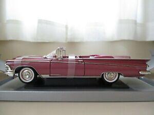 YAT MING - ROAD SIGNATURE - 1959 BUICK ELECTRA 225 CONVERTIBLE - 1/18 DIECAST