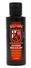 Wolfgang Car Care Exterior Trim Sealant - Plastic Rubber Vinyl Metal 4oz WG-3004