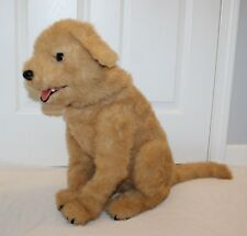 """Hasbro Furreal Friends BISCUIT My Lovin Pup Dog Animated 24"""" Golden Yellow Lab"""