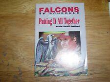 1988 NFL, Atlanta Falcons, team pocket football schedule, excellent condition