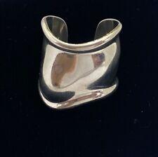 Tiffany & Co 925 Sterling Silver Elsa Peretti Bone Cuff