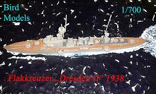 "Contraerei incrociatore ""Dresden II"" 1938 1/700 Bird models resinbausatz/RESIN KIT"