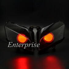 LED Projector Headlight Angel Demon Eyes for Honda CBR600RR CBR 600 RR 07-12 NEW