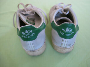 Basket Adidas Stan Smith vintage Blanche made in France 1980'S - 6 / 39