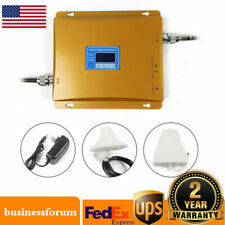 Dual Band 2G 3G 4G Cell Phone Signal Repeater Amplifier Mobile Signal Booster