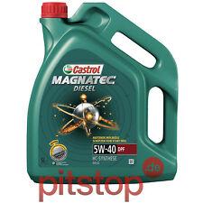 5 litri CASTROL MAGNATEC DIESEL 5w-40 DPF 5l Olio Motore Olio VW 505 01