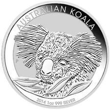 NUOVO 2014 Australiano Argento Koala 1oz Moneta D'Oro (incapsulati dall'Menta)
