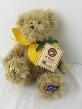 """Boyds Pluh Bear Liv N Hope 2010 Daffodil Days American Cancer Society 8"""""""
