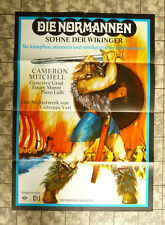 DIE NORMANNEN * A1-FILMPOSTER WA German 1-Sheet CAMERON MITCHELL RR´70s 70er