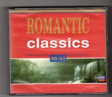 (HW985) Romantic Classics Vol 1 & 2, 22 tracks various artists - 1992 CD set