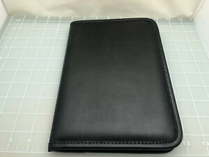 Judd's Black 5x8 Pad Holder w/Levenger Pad